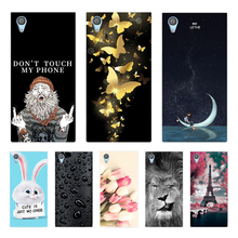 цена на Silicone Soft Case For Sony Xperia XA1 Plus Case Cartoon Back Cover For Sony Xperia XA1 Plus Dual Case For Sony XA1 Plus G3412