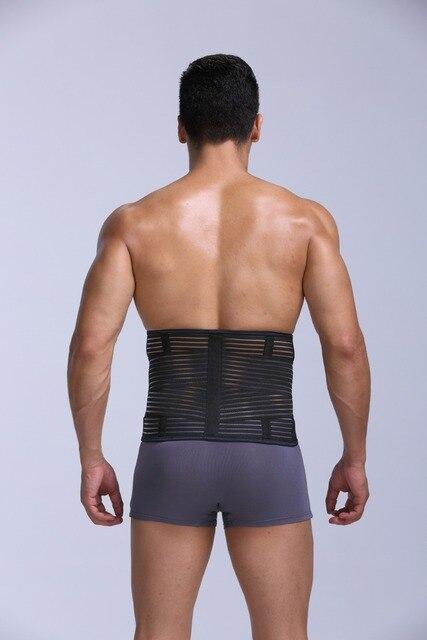 PRAYGER New Fit Body Girdle Men Slimming Waist Shaper Belt Tummy Trimmer Waist Cinchers Breathable  Control Belly Band 3