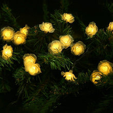 Solar Lamps 6M 30LED Romantic Fairy Outdoor Solar Light Colorful Christmas Holiday Wedding Decoration Waterproof String Lighting