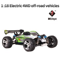 2.4G RC car 4WD 1:18 A959 A979 upgrade version A959 A A979 A Radio Control Truck RC Buggy High speed off road