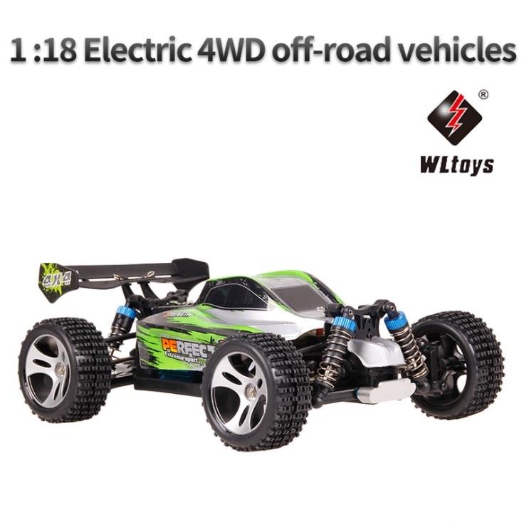 2.4G RC voiture 4WD 1:18 A959 A979 version de mise à niveau A959-A A979-A radiocommande camion RC Buggy haute vitesse tout-terrain