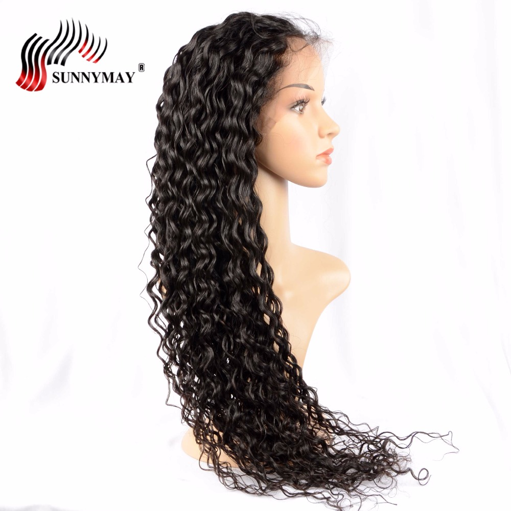 Sunnymay Full Lace Human Hair Wigs For Black Women Loose Wave Brazilian Virgin Hair Full Lace