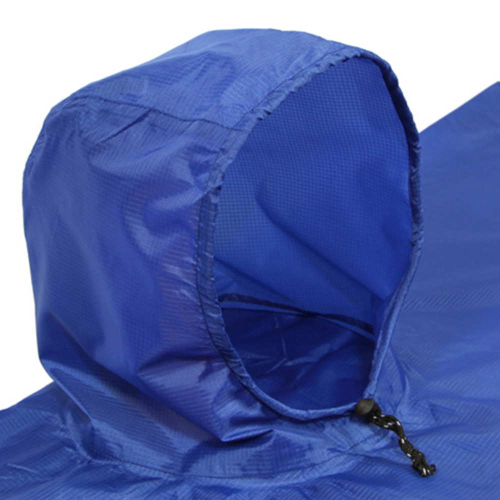 Sleeping Bags 3 In 1 Multifunctional Raincoat Outdoor Travel Rain Poncho Rain Cover Waterproof Tent Awning Camping Hiking Sleeping Bag Hot