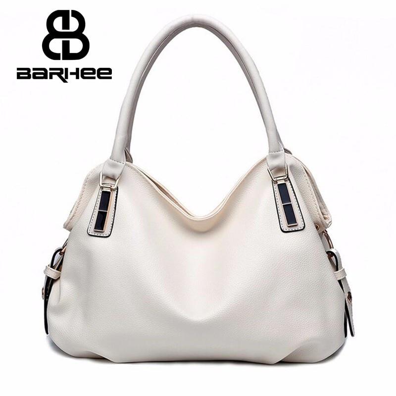 BARHEE  Designer Women Handbag Female PU Leather Bags Handbags Ladies Portable Shoulder Bag Office Ladies Hobos Bag Totes Pouch