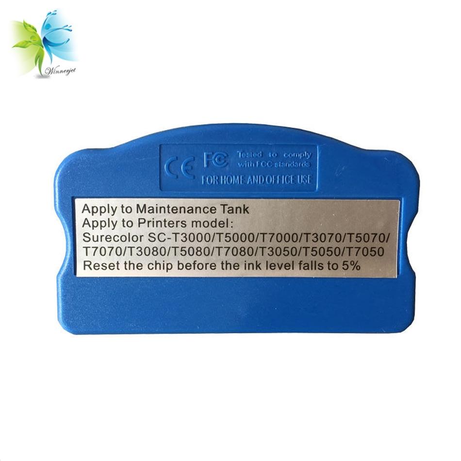 Winnerjet T6193 maintenance tank chip resetter for Epson SureColor P10000 P20000 P10070 P20070 printer