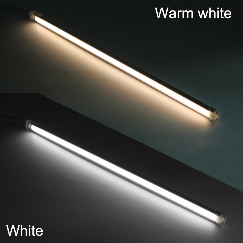 50cm 2pcs Led Bar Light With 24v Adapter Touch Sensor Dimmer Seamless Connecting Ultra Thin Rigid Strip Kitchen Decoration In Lights From