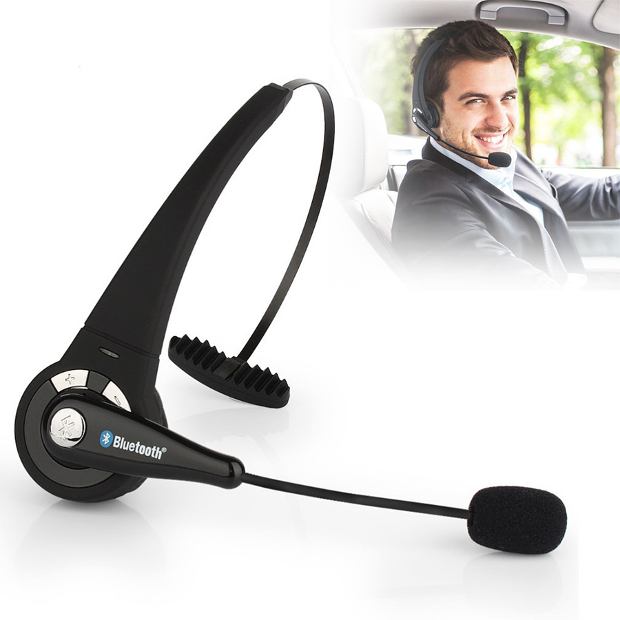 BTH-068 Universal Bluetooth Wireless Professional Gaming Headset Headphone Player for PS3 PC With Mircophone Smart Phones image