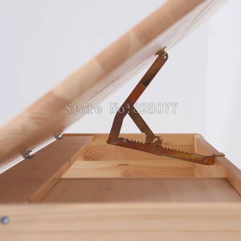2 pçs/lote Ângulo Ajustável Suporte de Inclinação para a Prancheta Mesa Mesa Cama Sofá Cadeira de Massagem Acessórios JF1239 Catraca