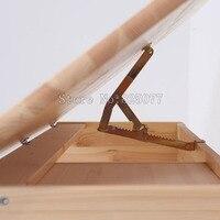 2PCS /LOT Angle Adjustable Tilt Bracket for Drawing Board Desk Table Ratchet Bed Sofa Massage Chair Accessories JF1239
