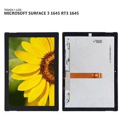 10.8 ''A Cristalli Liquidi Per Microsoft Surface 3 1645 RT3 1645 Display Panel Lcd Combo Touch Screen In Vetro Sensor Parti di Ricambio