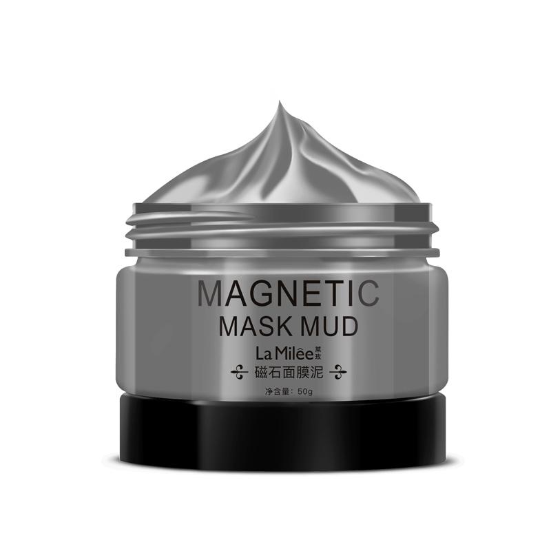 LaMilee New Magnetic Face Mask Mineral-Rich Pore Deep Cleansing Removes Skin Impurities Magnet Seaweed Moisturizing Anti-aging