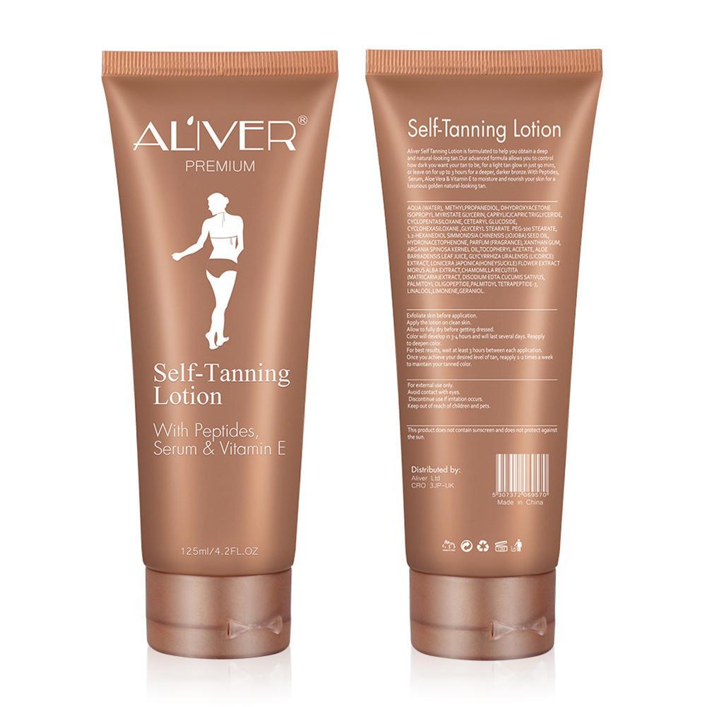 Self Tanner Self Tanning Cream Body Black Bronze Tanning Long Lasting Sunless Lotion 125ML 1