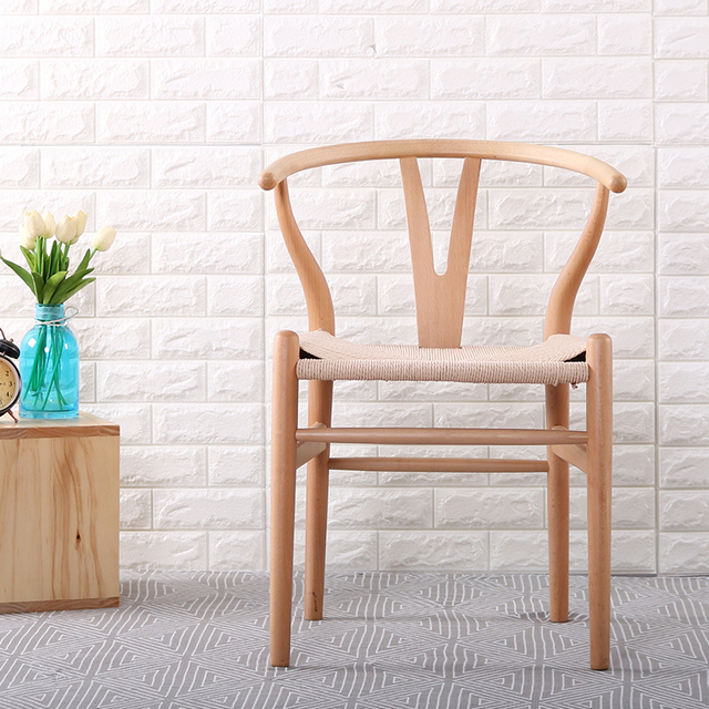 Minimalist Modern Dining Room Furniture Wood Chair Contemporary Solid Wood Dining  Chairs