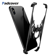 Luxury Bat Metal Shell Protection Case For Huawei P20 lite Personality for Pro case Bumper cover