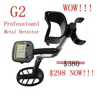 Professional Metal Detector Underground Metal Detector Gold High Sensitivity And LCD Display Metal Detector Finder G2