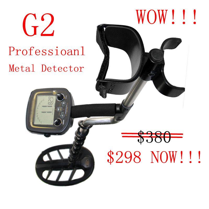 Professional Metal Detector Underground Metal Detector Gold High Sensitivity And LCD Display Metal Detector Finder G2
