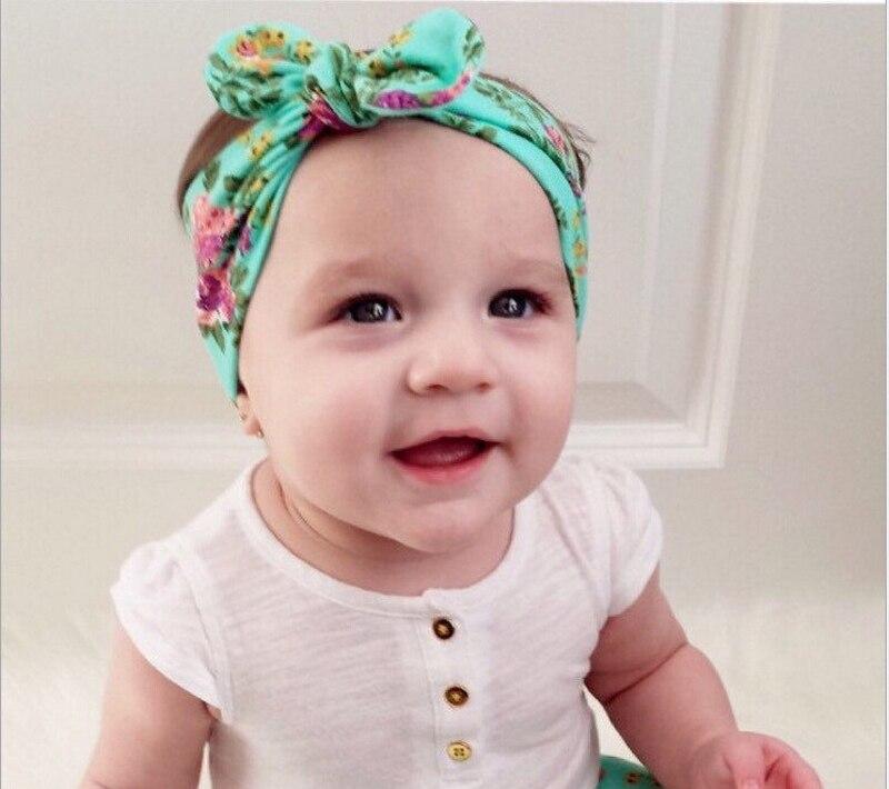 BalleenShiny Bandana turban Baby Girl Headband Cotton Bohemia Style ...