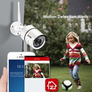 Image 4 - ZOSI, kamera do monitoringu, kamera do monitorowania otoczenia na zewnątrz, odporna na warunki pogodowe, 1080P, Wi Fi, IP, Onvif, 2.0 MP, na podczerwień, rejestracja obrazu nocą, zapewnia ochronę, nadzór wideo