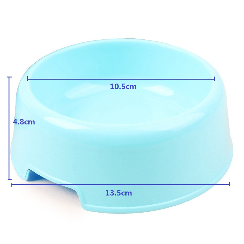 Dog Bowl Plastic Travel Cat Dog Bowls Feeding Feeder Water Bowl For Pet Dog Cat Puppy Food Bowl Water Dish 5 Colors Accessories 5