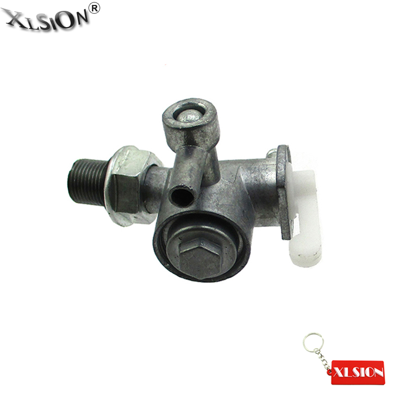XLSION Aftermarket Fuel Petcock Switch Fits Robin EY15 / EY20 / DET150 And EY28 GX6500R GX7500 Replace # 64-20064-00