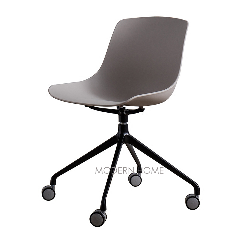 Modern Design Plastic And Metal Swivel Office Computer Study Chair, Nice  Fashion Design Loft Popular W Or W/O Wheel Chair Seat In Office Chairs From  ...