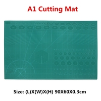 A1 PVC Self Healing Rotary Cutting Mat Double Sided Quilting Grid Lines Printed Board DIY Patchwork Craft Tools Cutting Board