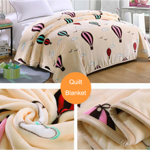 Bedding Blanket Quilt Flannel Thickening Single Student Dormitory Autumn Winter Coral Velvet Sheets Soft Comfortable Bed Duvert