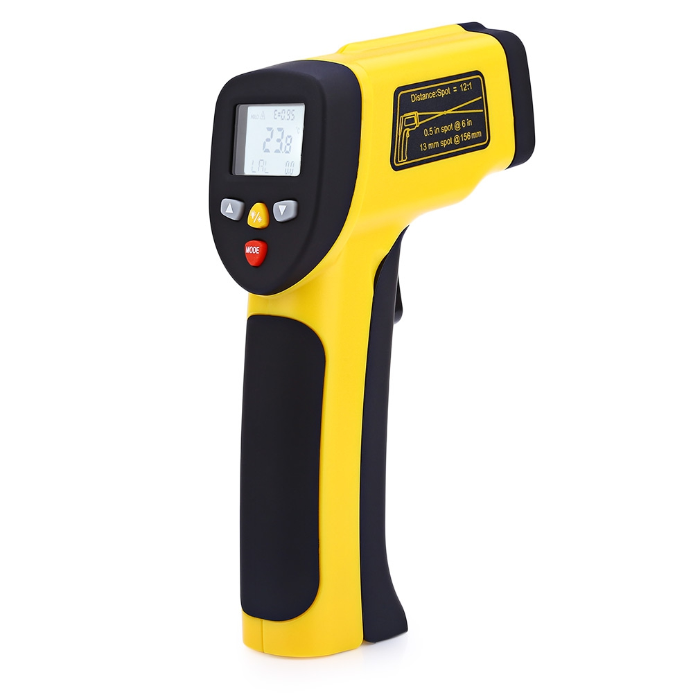 HT 819 LCD Display Infrared Thermometer Temperature Sensor Outdoor Indoor Digital Portable Temperature Measuring font b