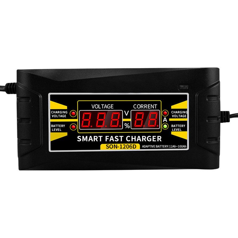 Plein Automatique Batterie De Voiture Chargeur 150V--250V À 12 v 6A Intelligent Rapide Puissance De Charge Adapté pour Voiture moto