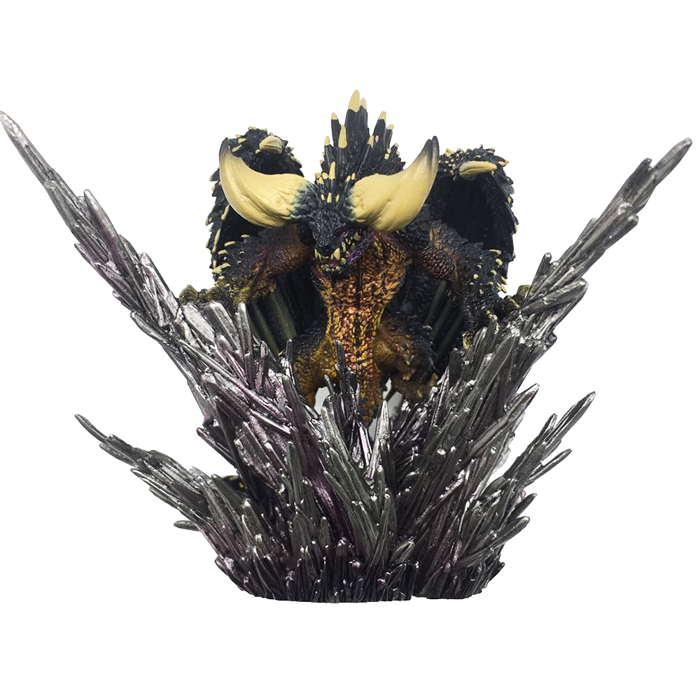Japan Anime Monster Hunter XX Figure Nergigante PVC Models Hot Dragon Action Figure Decoration Toy Model цена