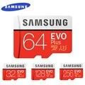 SAMSUNG EVO + Mikro SD 32G SDHC 80 mb/s Sınıf Class10 Hafıza Kartı C10 UHS-I TF/SD Kartları trans Flaş SDXC 64 GB 128 GB için nakliye