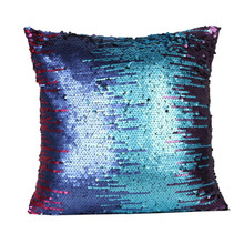 Envío Gratis Multicolor Glitter Lentejuelas Cafe Funda de Almohada Throw Pillow Cojín Funda Housse De Coussin Almohada Casos