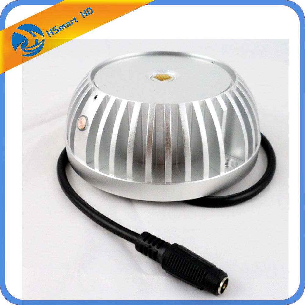 New CCTV 850nm IR LED Infrared Illuminator Lamp CCTV Night Vision For HD Camera DVR Systems security uk us eu au 12 volt 1 amp power supply power adapter for cctv ir infrared night vision lamp dvr systems camera