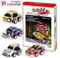 Christmas/Birthday gift,Home Adornment,3D Puzzle Paper Model Toy,Papercraft,Racer car