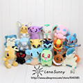 16Pieces/Lot Mixed Pokemon Go Plush Toys,Lapras Snorlax Umbreon Eevee Espeon Jolteon Vaporeon Flareon Glaceon Leafeon Plush Toy