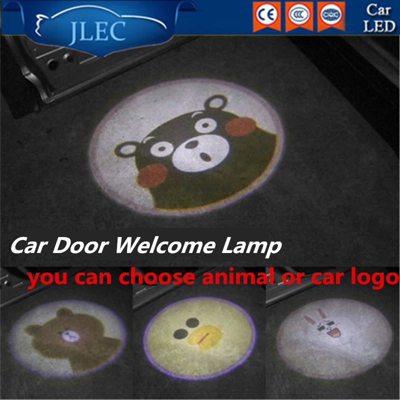 все цены на 2017 Car Styling Car Logo Door Laser Light Show Projector Door Lights Under Puddle Lamps Ghost Shadow Welcome Custom Laser Light онлайн