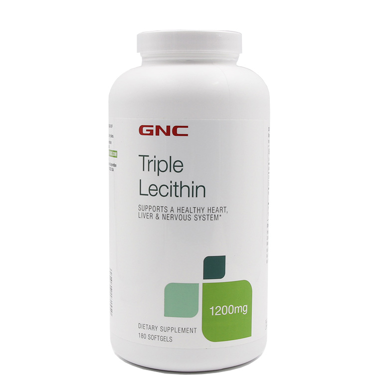 Triple Lecithin supports a healthy heart liver & nervous system 1200 mg 180 pcs lycopene 40 mg supports prostate