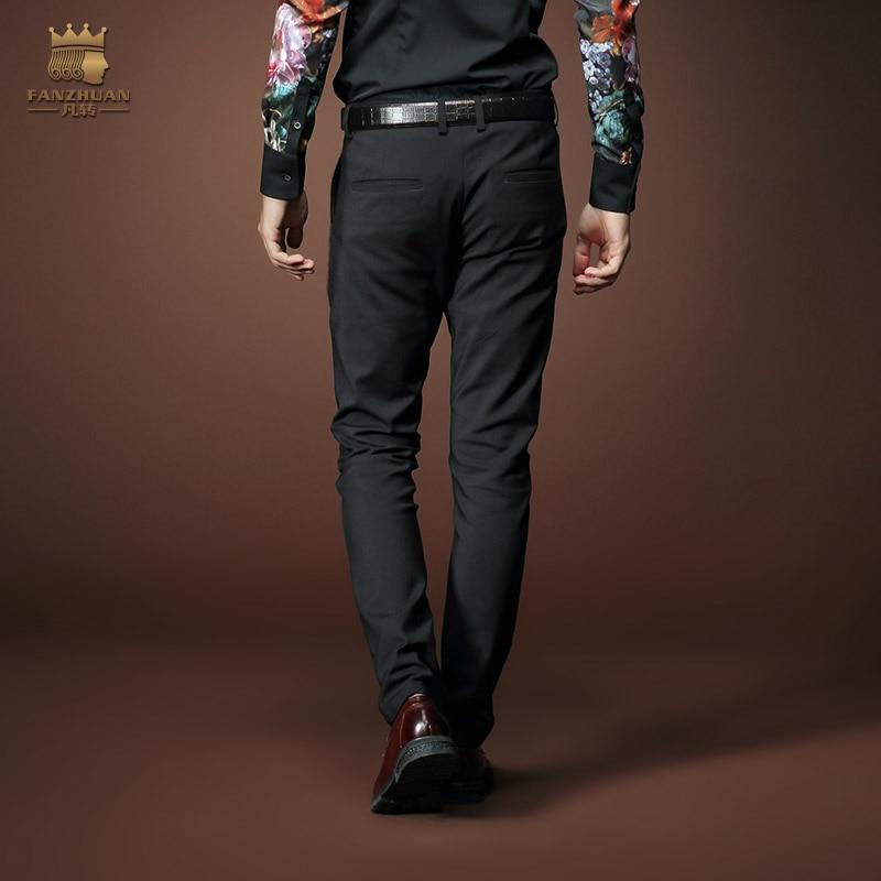 Envío gratis nueva moda casual masculina de los hombres ropa de - Ropa de hombre - foto 3