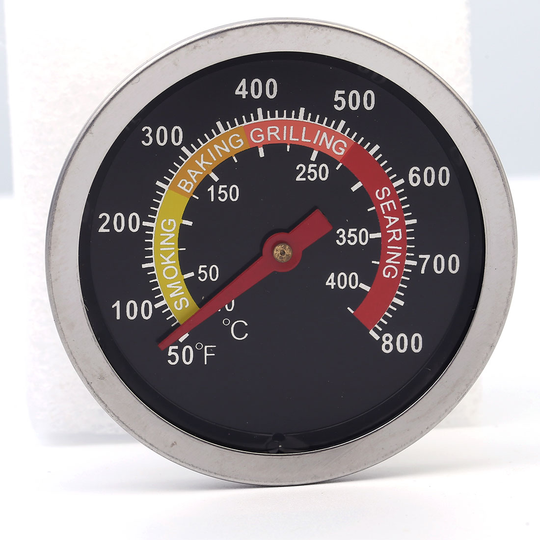 50-400C Cooking Tools Stainless Steel BBQ Smoker Grill Thermometer Temperature Gauge Oven Cooker Thermometer Gauge