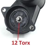 Saborway 12 Torx Rear hand brake Electric Brake Caliper Servo Motor For A6 C6 Q3 Alhambra 32332082 32332082G 4F0 615 404 C F