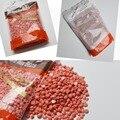 Rose Sabor Papel Libre Sólido frijoles Granos de cera Depilatoria Cera Dura cera sólida perla para los hombres/de las mujeres del cuerpo depilación 300 G/pack