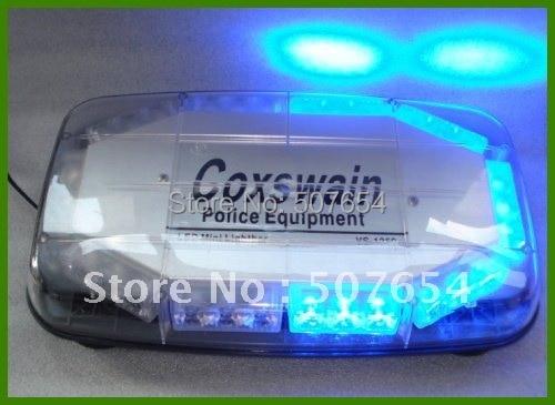 35cm 12VDC 30W LED autó vészvillogó, figyelmeztető lámpa, - Autó világítás