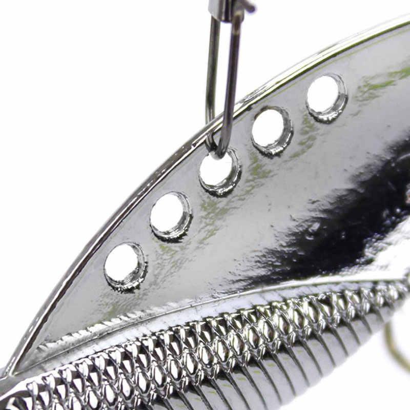 5 шт. VIB рыболовные приманки 5 см 10 г Вибрирующая наживка металлическая приманка жесткая приманки низкие частоты искусственная приманка vib приманка для озера