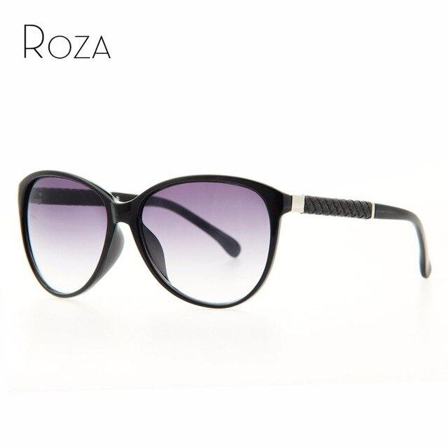 6dbc98d5d7afb Roza frete grátis cat eye óculos de sol da marca mulheres de boa qualidade  óculos de