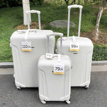"""GraspDream men spinner cabin suitcase zipper frame traveling rolling luggage bags 20\""""24\""""28\"""" inch women brand trolley suitcase"""