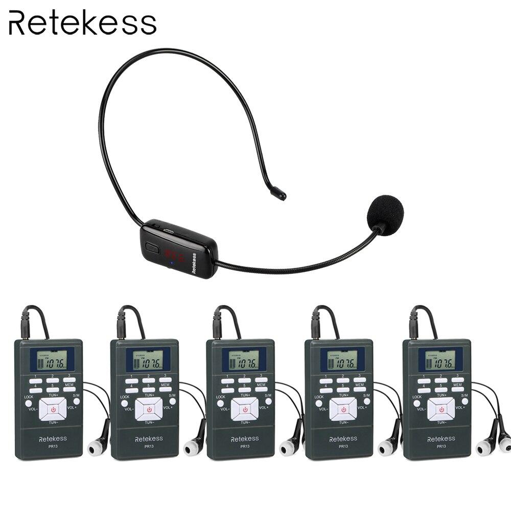 Unterhaltungselektronik Gewissenhaft Drahtlose Stimme Übertragung System 1 Fm Transmitter Tr503 5 Fm Radio Empfänger Pr13 Für Tour Führung Kirche Treffen Ausbildung
