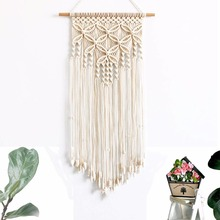Macrame Wall Hanging Tapestry 100% Hand Knitted Decorative