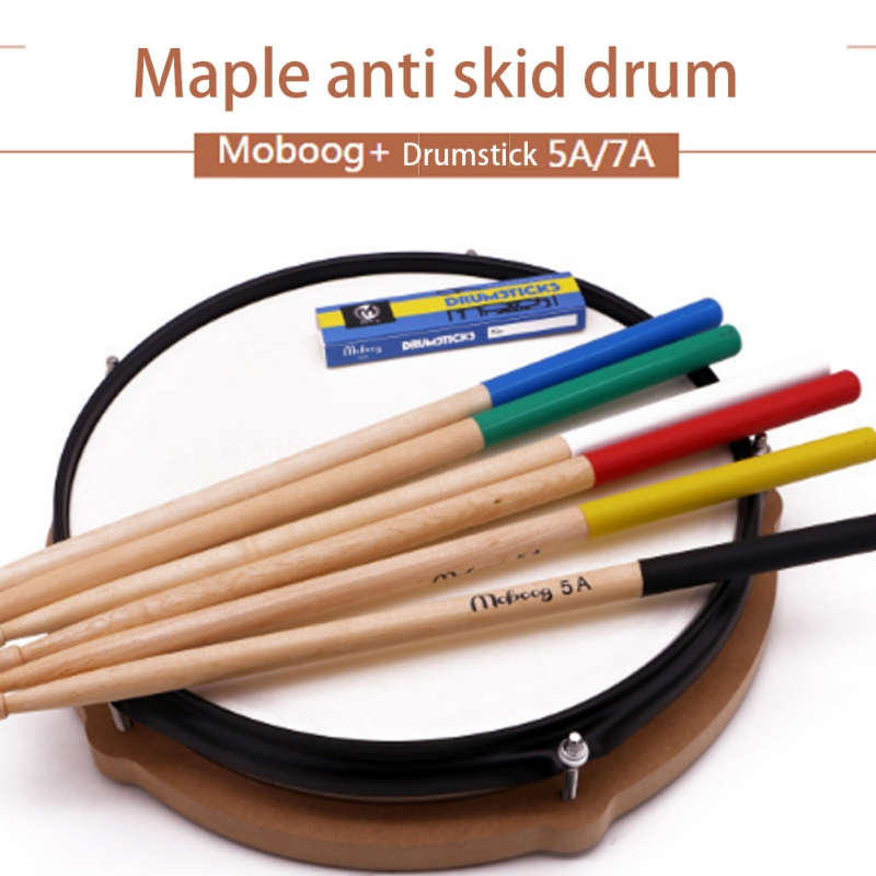 1 Pair Maple Wood Drum Sticks 5AAnti-slip Electronic Drum Rack Drumsticks Musical Sticks Percussion Instruments Accessories 1