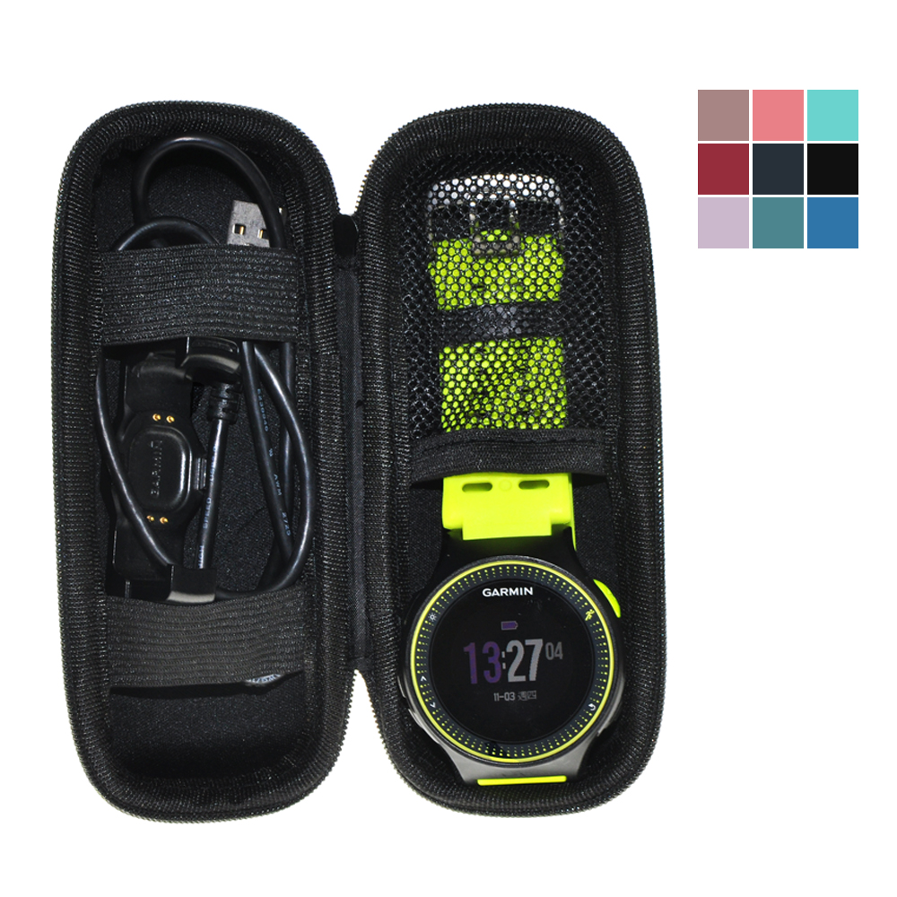 Traveling Protect Portable Bag EVA Case For Garmin Forerunner 225 230 235 620 630 Accesorries купить недорого в Москве