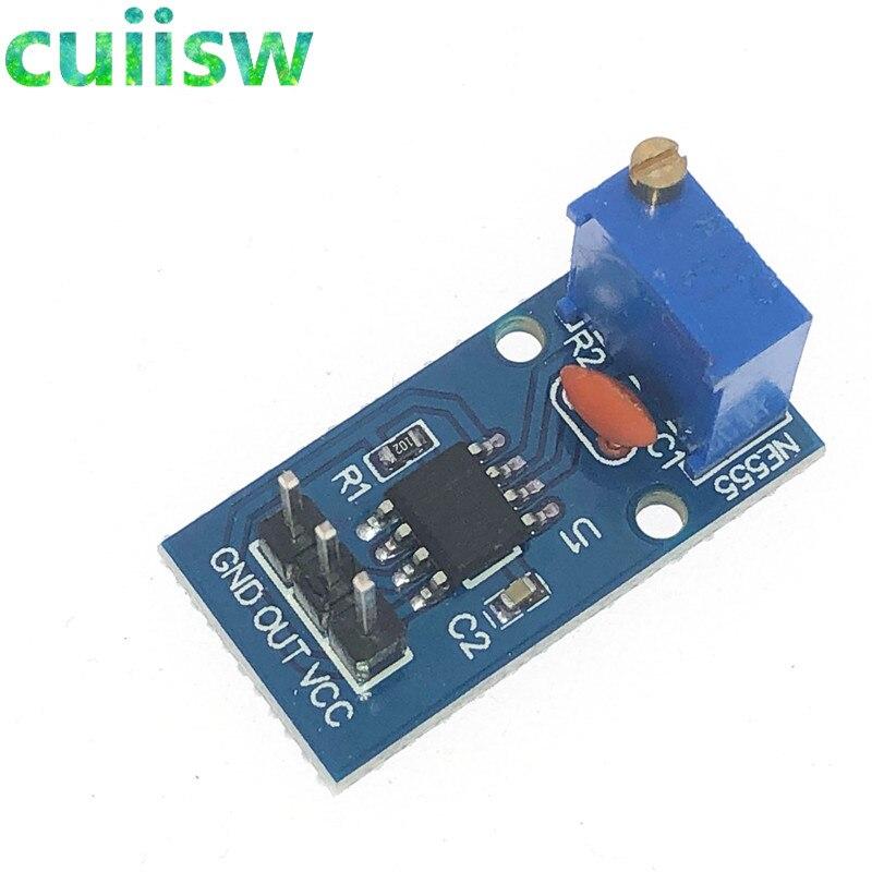 Генератор импульсов NE555 с регулируемым сопротивлением, модуль с одноканальным выходом для умного автомобиля Arduino, 5 в постоянного тока, 12 В|Интегральные схемы|   | АлиЭкспресс